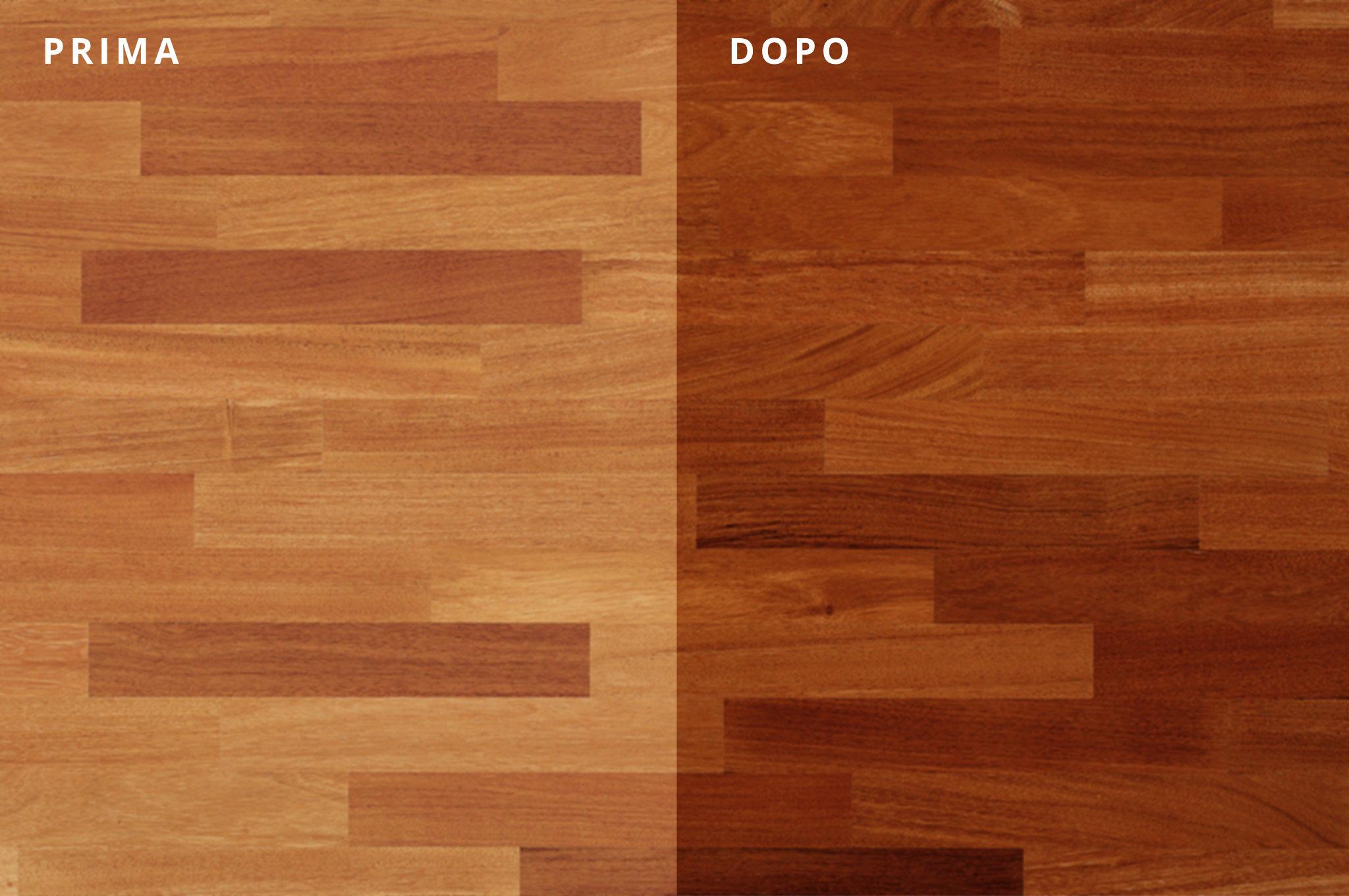 pavimento in legno doussiè