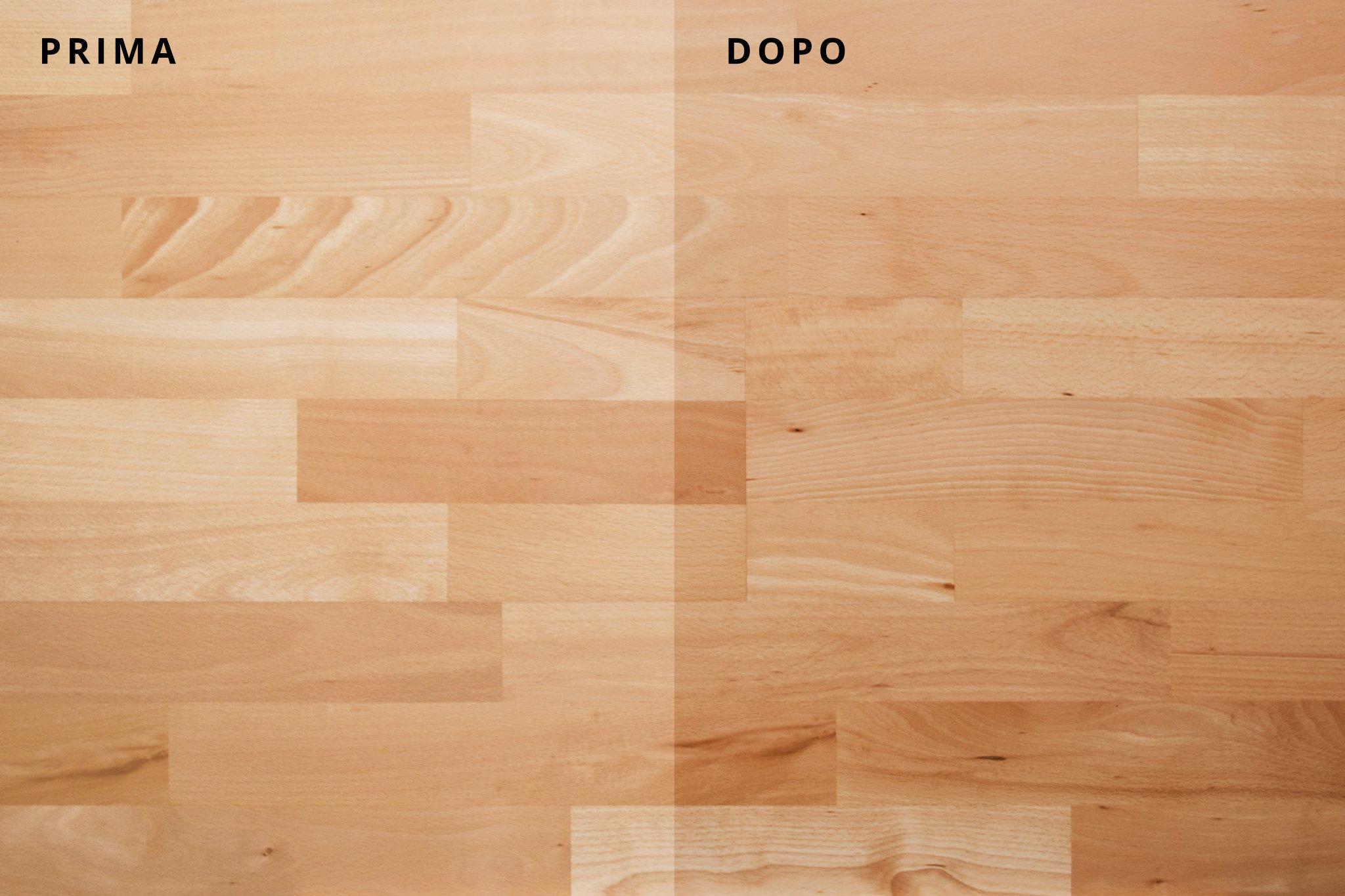 pavimento in legno faggio