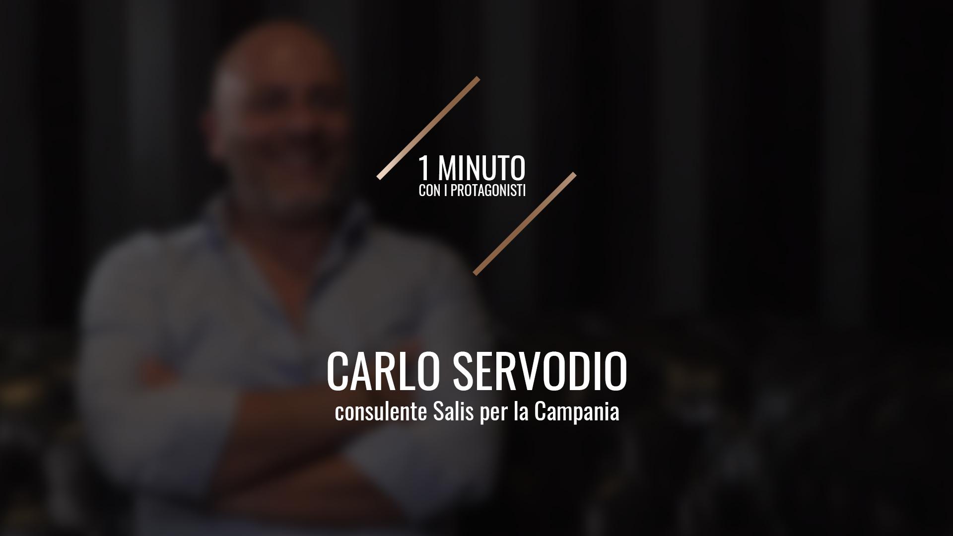 Carlo Servodio, Consulente Salis per la Campania