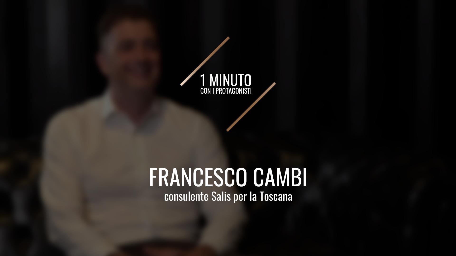 Franceco Cambi, il consulente Salis per la Toscana