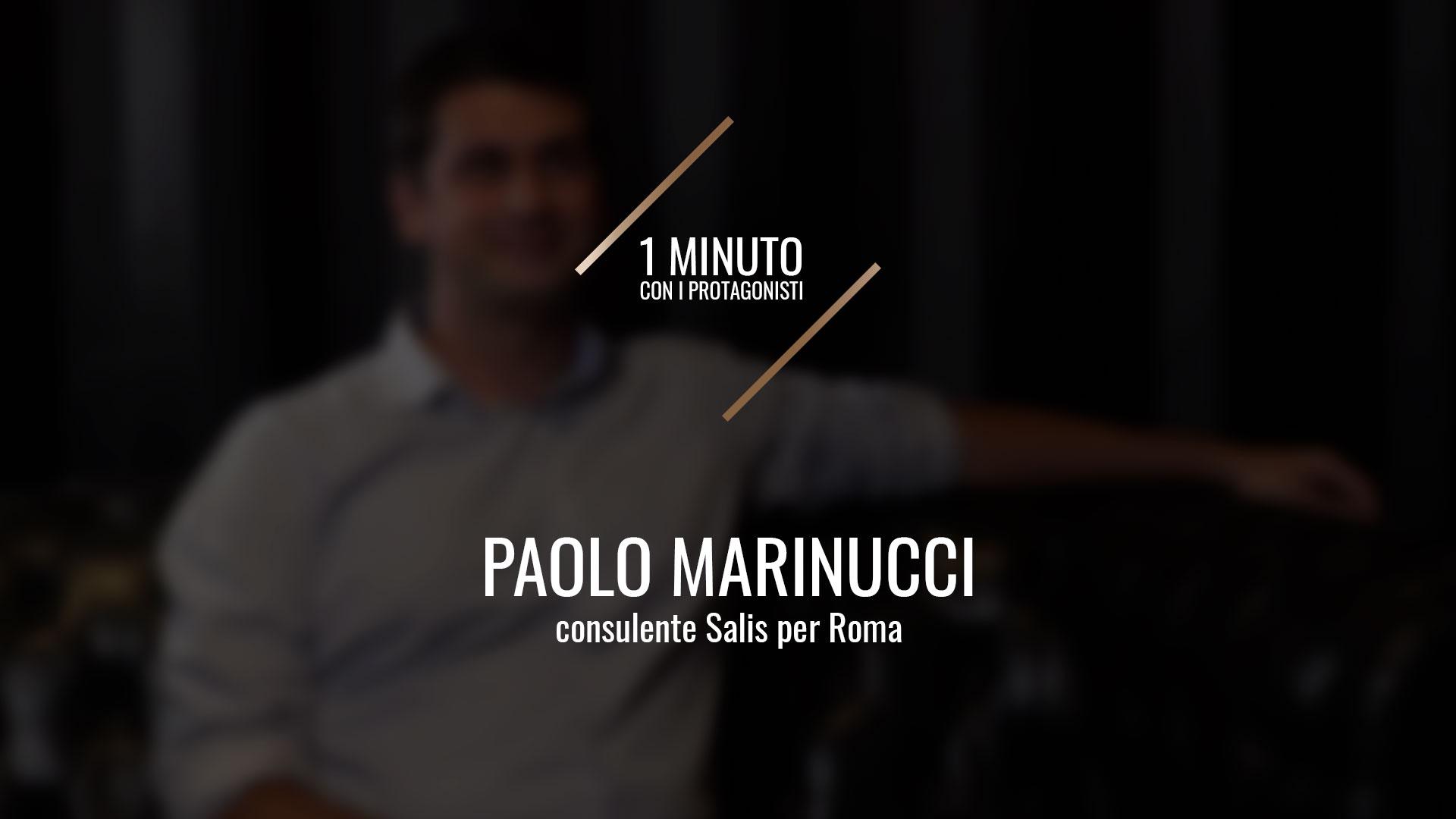 Paolo Marinucci, referente Salis Roma