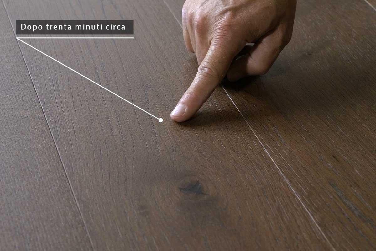 legnoresina pavimento infiammabile